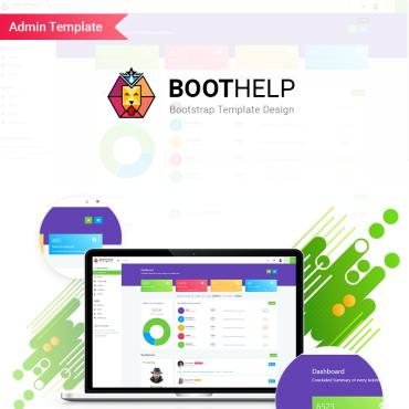 Preview image of BootHelp | Bootstrap 4 responsive dashboard