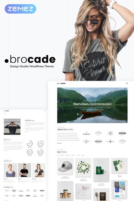 Website Design Template 70529 - blog agency management merchant premium promotion responsive crossbrowser powerful