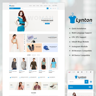 Preview image of Lynton - Responsive