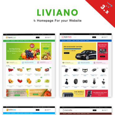 Preview image of Liviano - Ecommerce Multipurpose