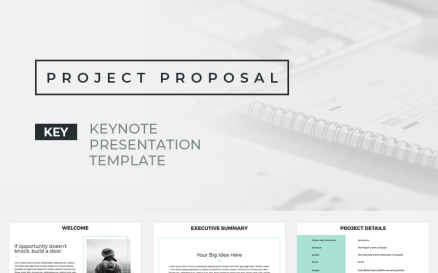 Project Proposal Presentations Keynote Template