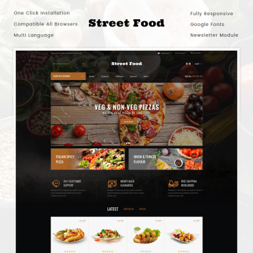 Preview image of Street Food Store