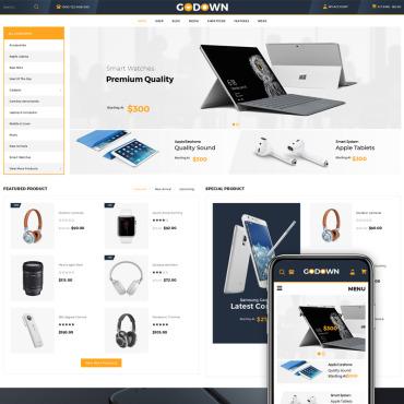Купить  пофессиональные WooCommerce шаблоны. Купить шаблон #70588 и создать сайт.