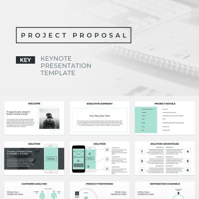 Project Proposal Presentations Keynote Template 70570