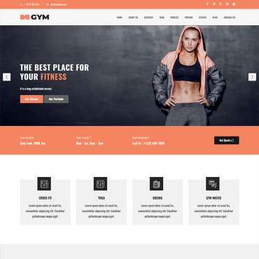 Preview image of Gym - Parallax