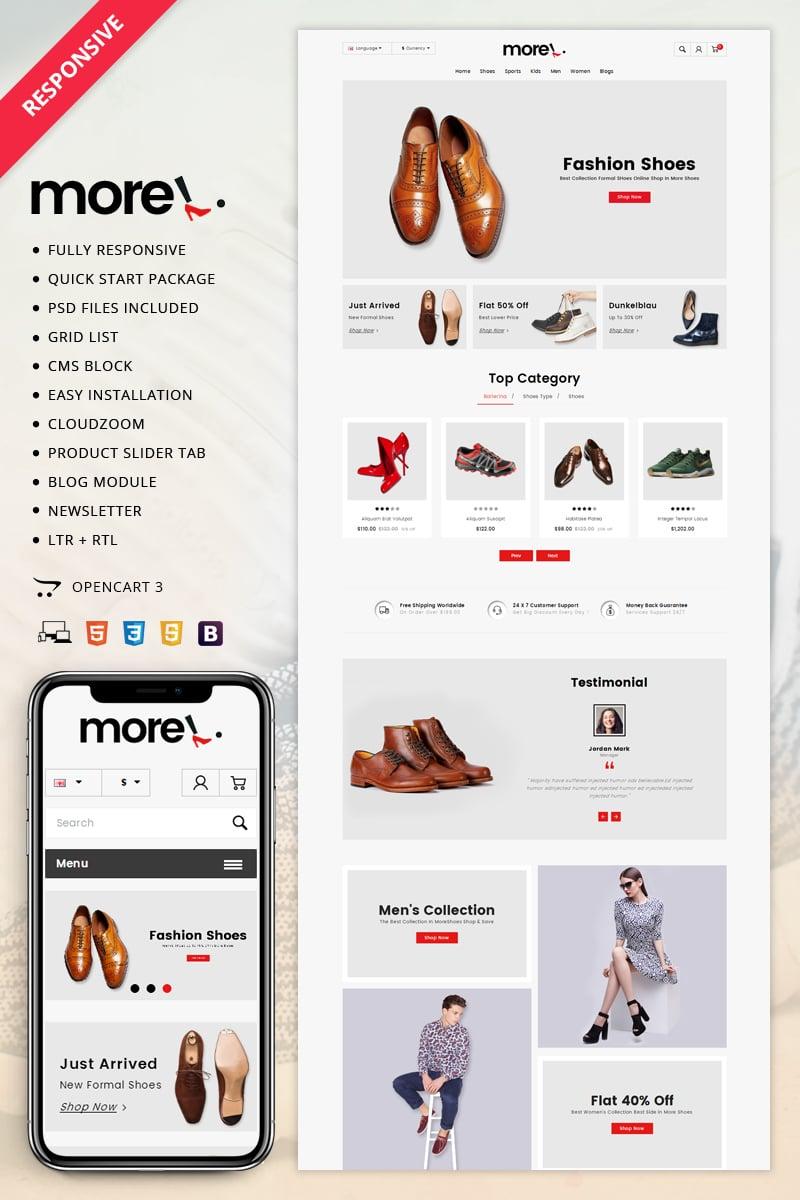 Website Design Template 70614 - apparel fashion leather multipurpose opencart3 responsive service testimonial blog premium sampledata oneclickinstallation customizable html5 css3 cms seo