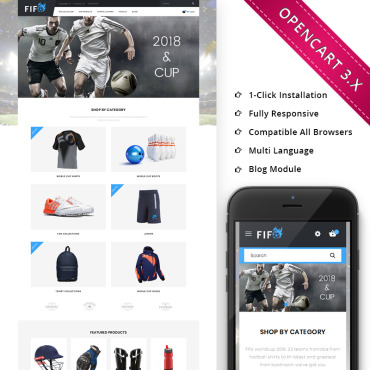 Preview image of Fifo Sport Store - Responsive