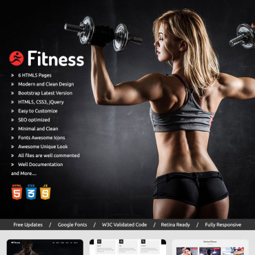 Preview image of Fitness -  Parallax