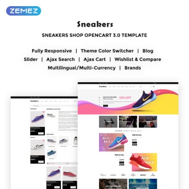 Preview image of Sneakers Store