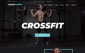 Cross Arena - Crossfit Studio WordPress Elementor Theme