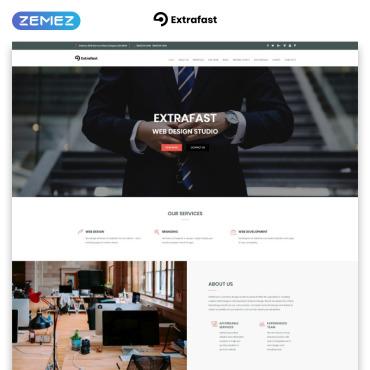 Preview image of ExtraFast - Web Design Studio HTML5