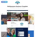 Website Template  #70659