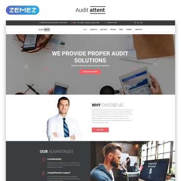 Preview image of Audit attent - Business Audit HTML5
