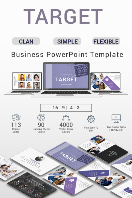 PowerPoint Template  #70683
