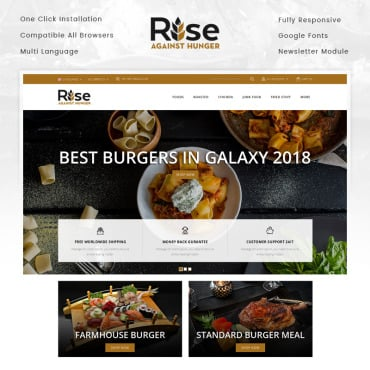 Preview image of RISE - Food Store