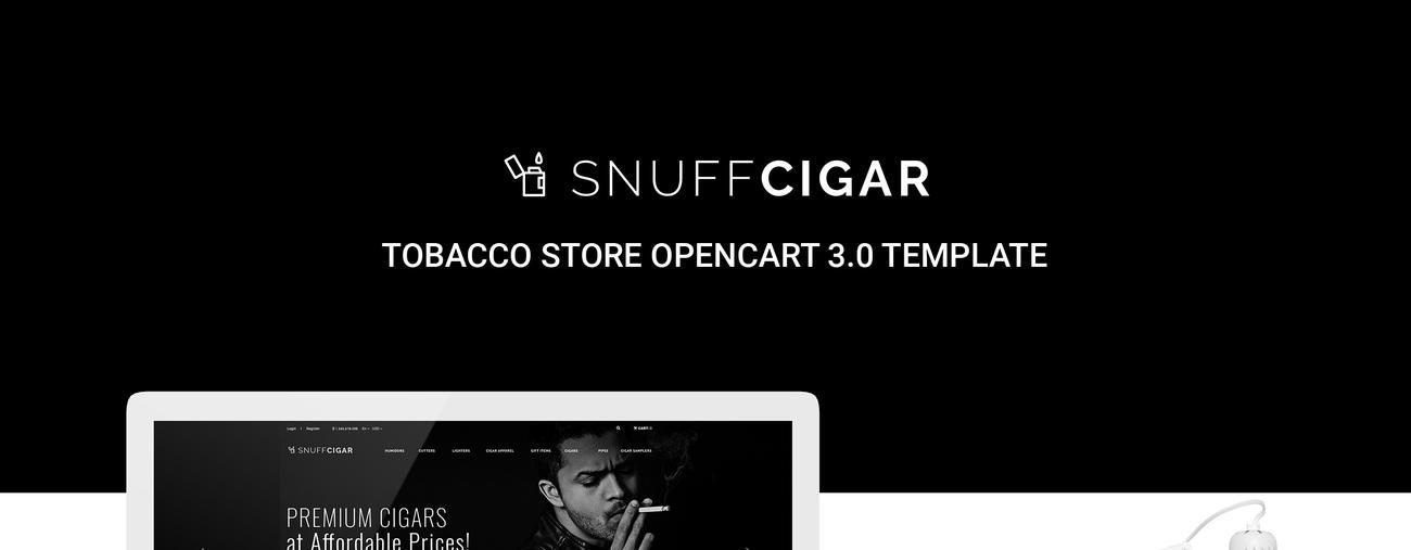 OpenCart Template  #70687