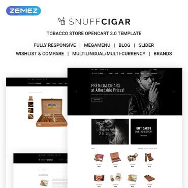 Preview image of SnuffCigar - Elegant Cigar Online Shop