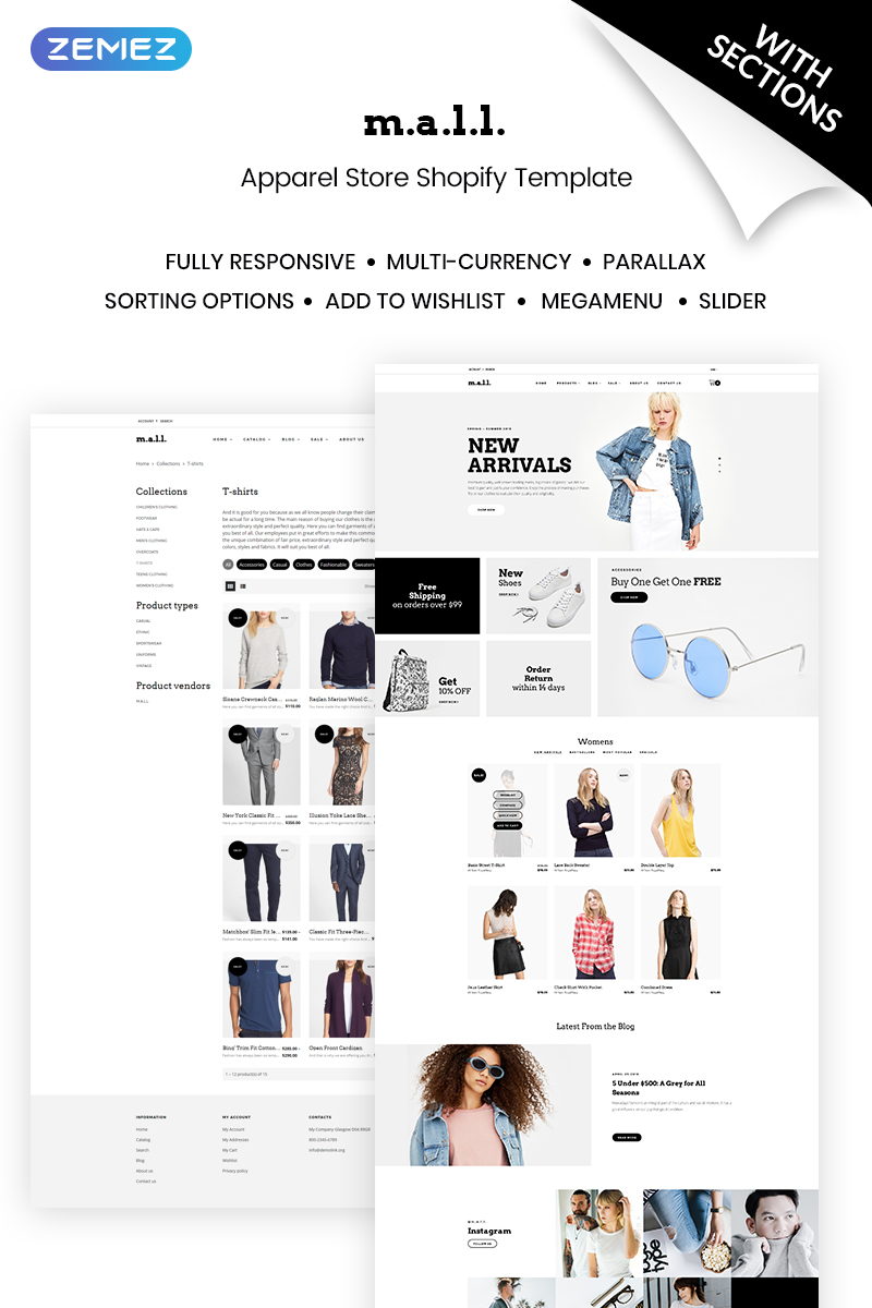 Website Design Template 70688 - apparel fashion bags accessories online shopping commerce products perfume cosmetics shoes swimwear handmade jewelry jewelery gift