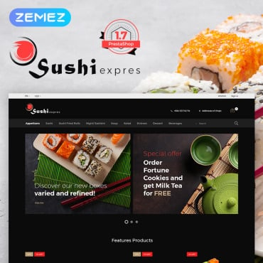 Preview image of SushiExpress - Restaurant Store