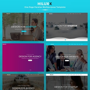 Preview image of Hiluxx - Parallax Multipurpose