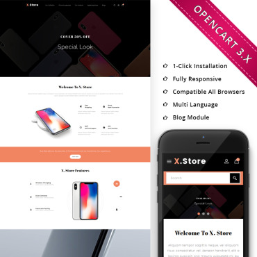Preview image of Xstore Mobile - Responsive