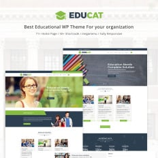 Educat Education College Theme In WordPress