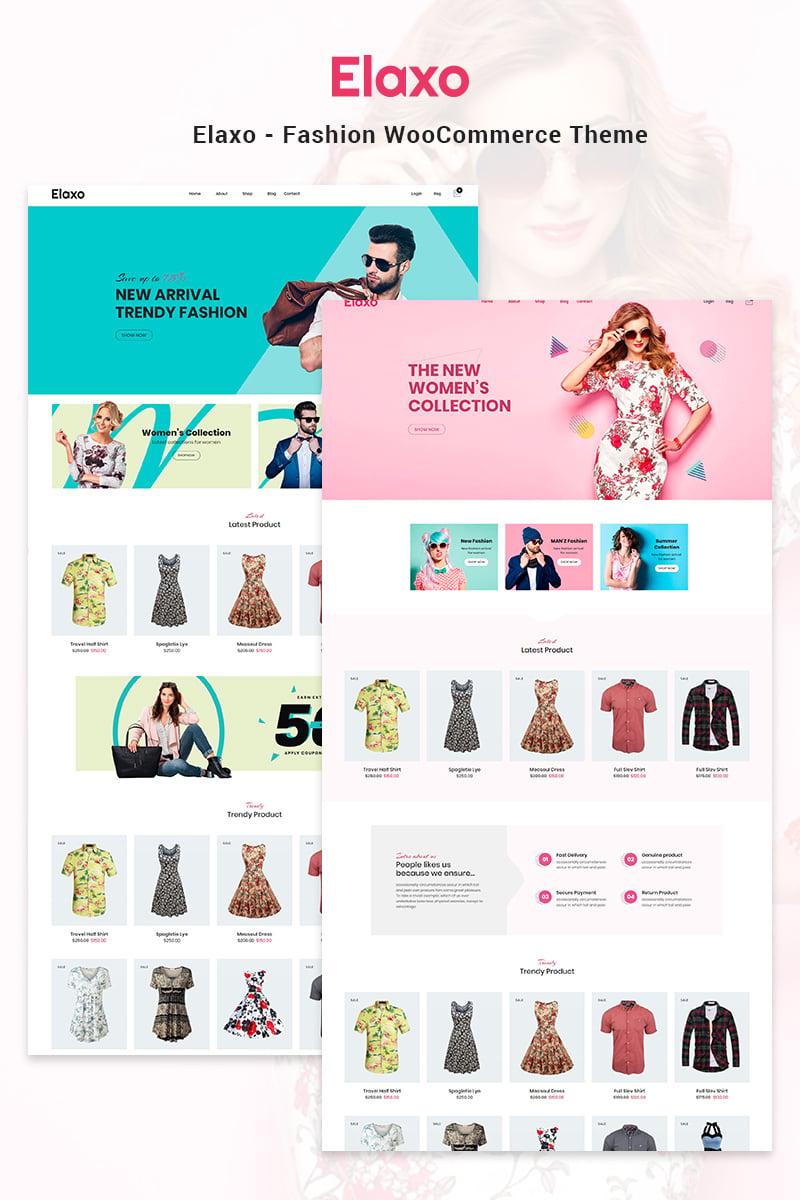 Elaxo - Fashion WooCommerce Theme - screenshot