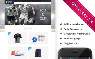Fifo Sport Store - Responsive OpenCart Template