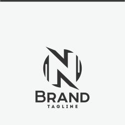 Letter d logo template 66246 letter n maxwellsz