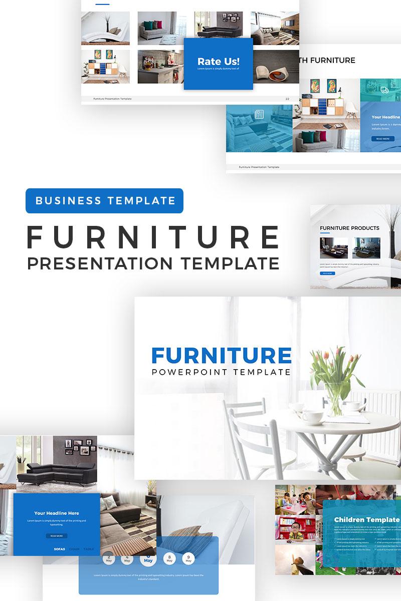 """PowerPoint Vorlage namens """"Furniture Presentation"""" #70651"""