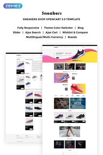 Stock Photo Responsive OpenCart Şablon
