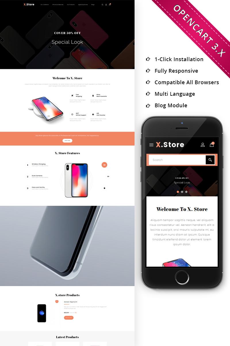 Responsive Xstore Mobile - Responsive Opencart #70696 - Ekran resmi