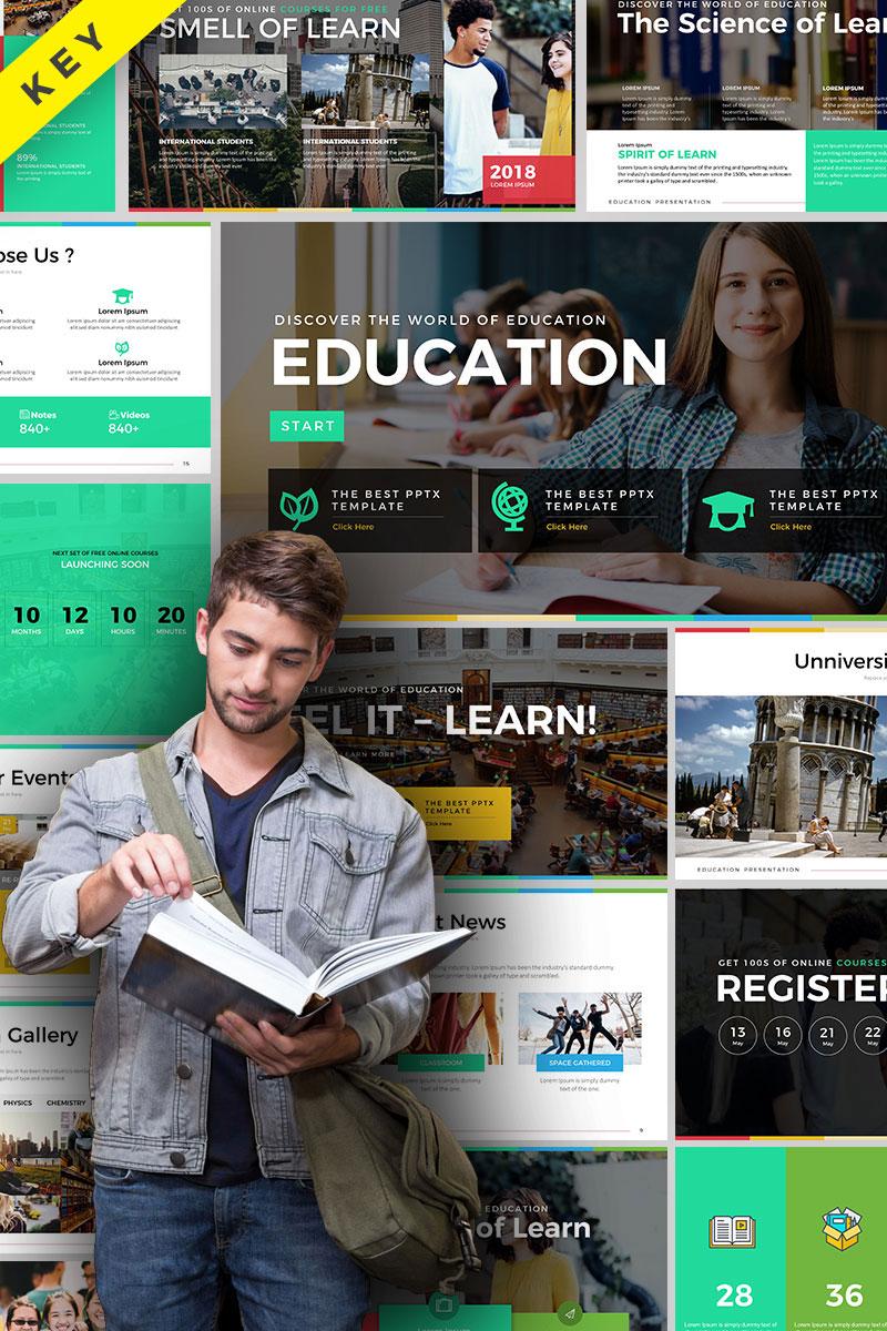 """Šablona pro Keynote """"Education Presentation"""" #70650"""