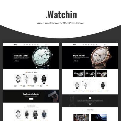 "Tema WooCommerce Responsive #70665 ""Watchin - Watch"" #70665"