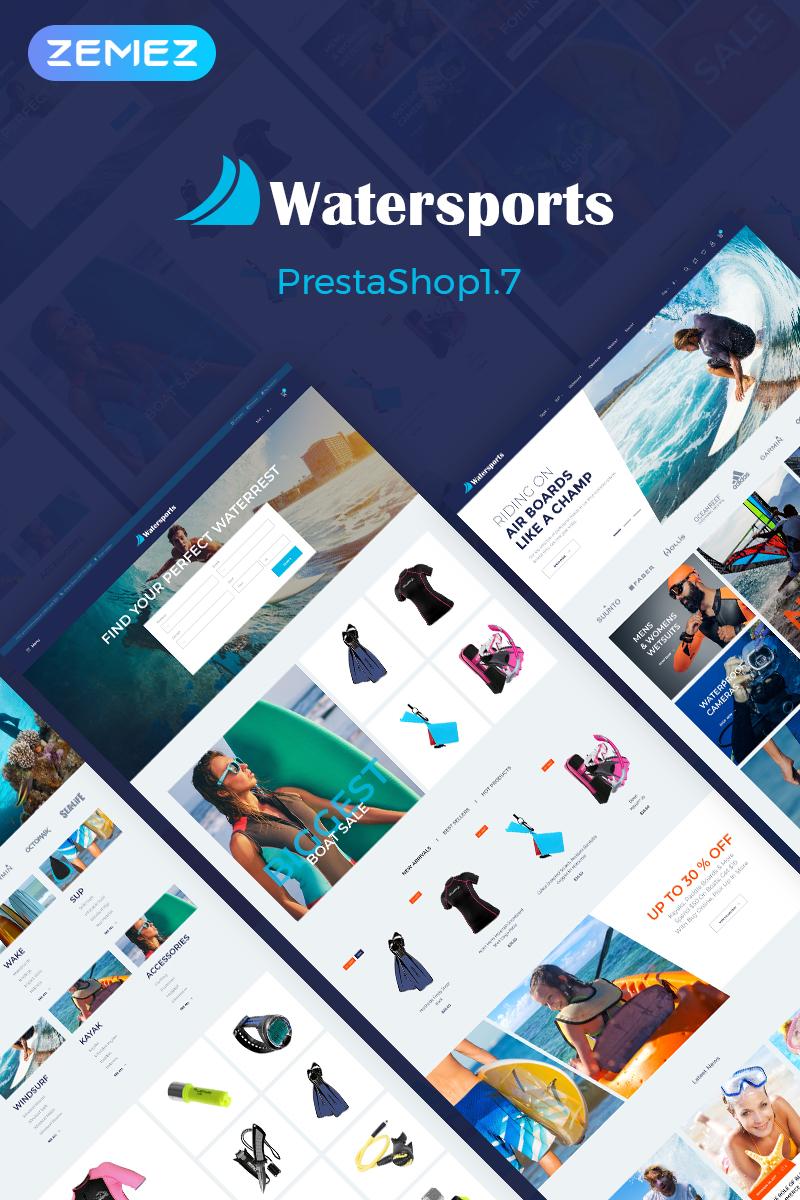 Watersports - Diving Store PrestaShop Theme - screenshot