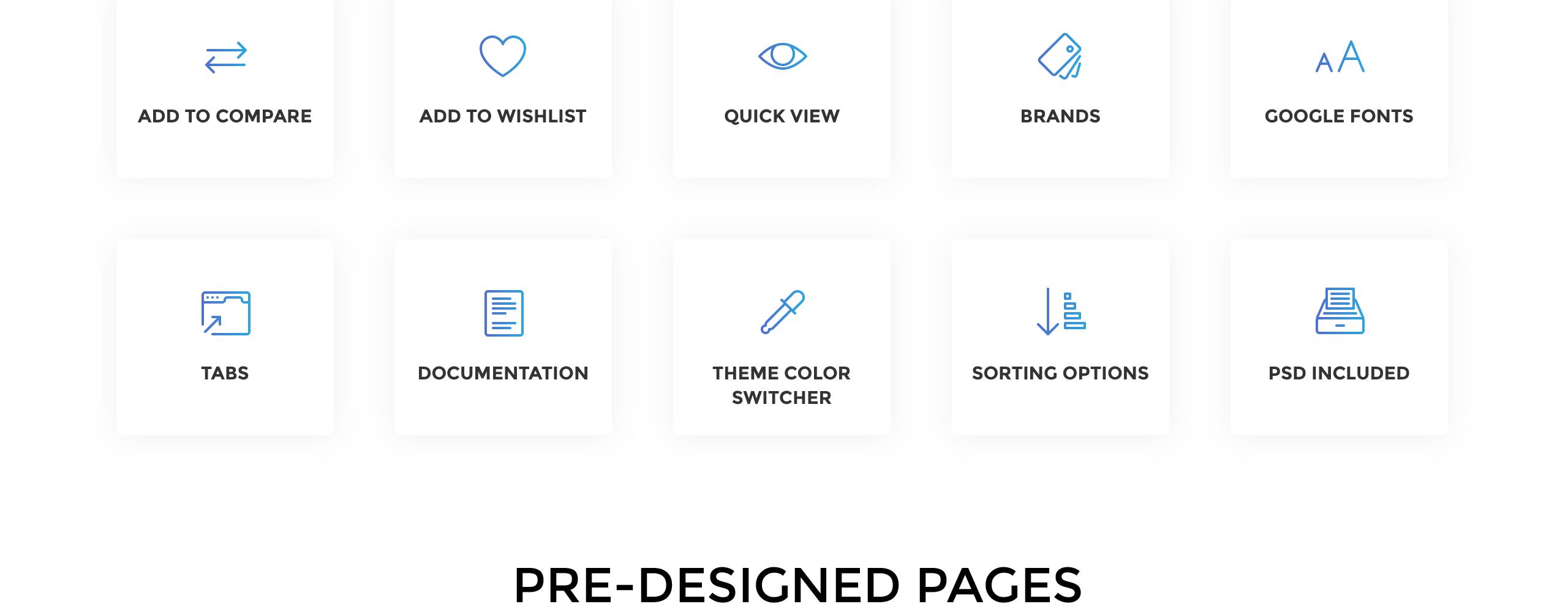Website Design Template 70709 - fashion