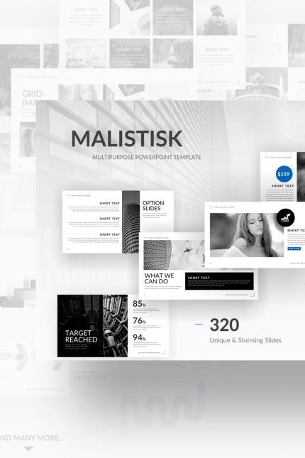 PowerPoint Template  #70725