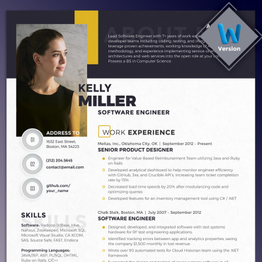 Preview image of Kelly Miller - Software Engineer