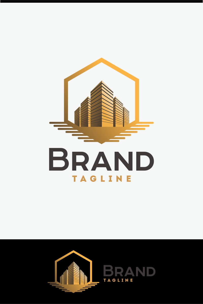 real estate logo template  70702