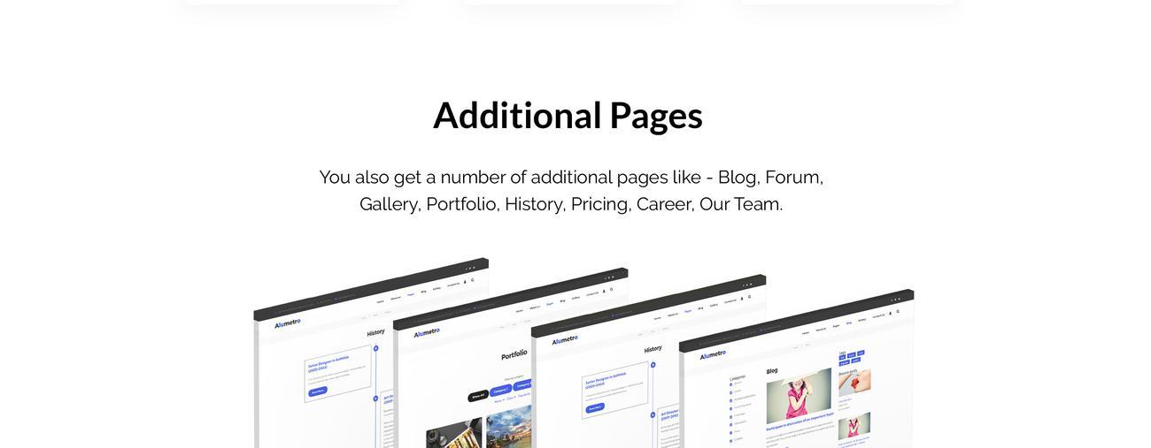 Website Design Template 70802 - personal premium portfolio gallery blog post project service multipurpose responsive visual seo html