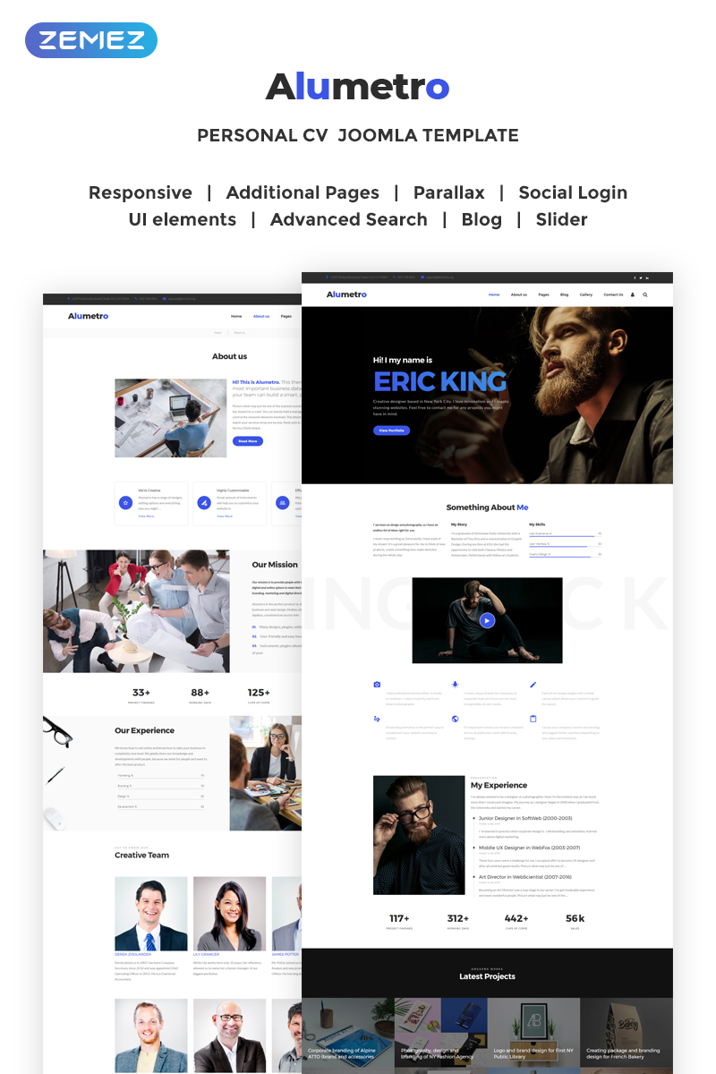 Website Design Template 70802 - visual seo html