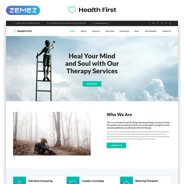 Preview image of Health First - Calm Mental Health Institution