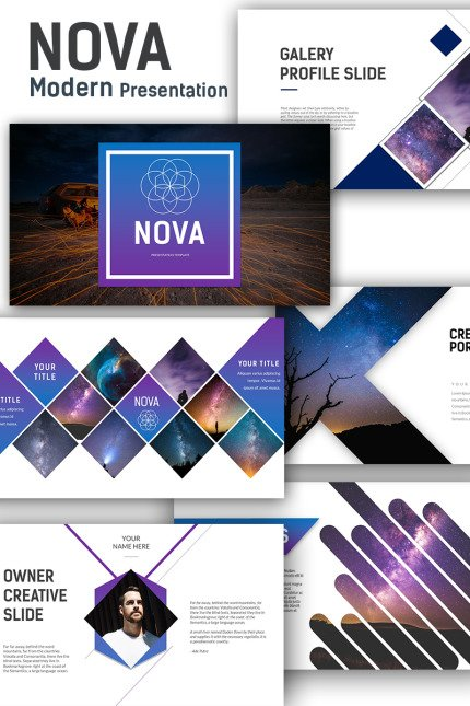PowerPoint Template  #70819