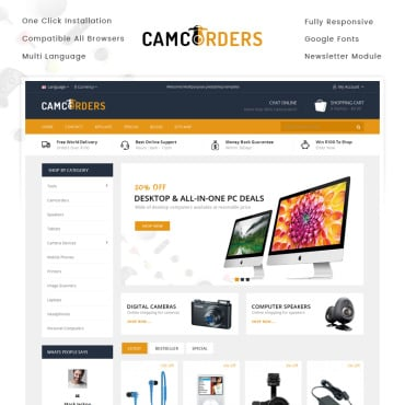 Preview image of Camcorder - Electronics Store