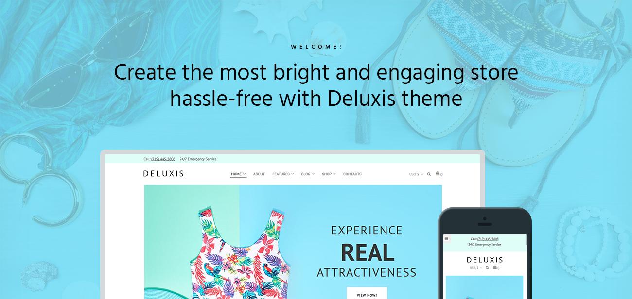Website Design Template 70855 - stylish portfolio post gallery shopping premium promotion responsive testimonials creative design