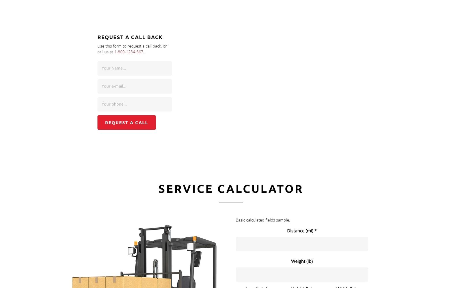 """""""Cargo - Transportation HTML5"""" - адаптивний Шаблон цільової сторінки №70833"""