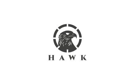 Hawk Logo Template