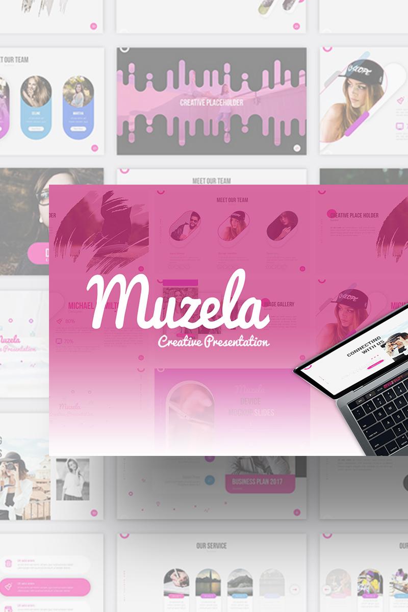 """PowerPoint Vorlage namens """"Muzella Creative Presentation"""" #70840"""