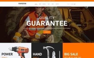 PowerZone - Tools Store Elementor WooCommerce Theme
