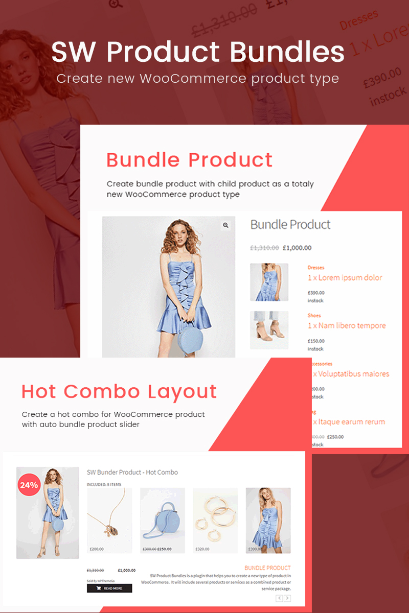 """SW Product Bundles - WooCommerce Bundled Product"" - адаптивний WordPress плагін №70856"